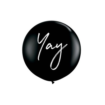 BALLOON | BLACK YAY SET