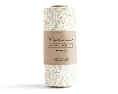 Bakkerstouw | Twine Gold White