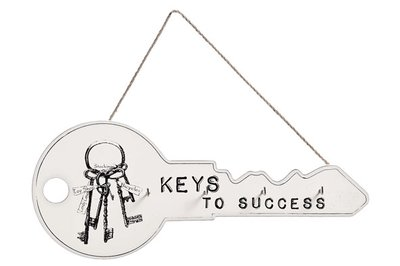 "Sleutelrek   ""Keys to succes"""
