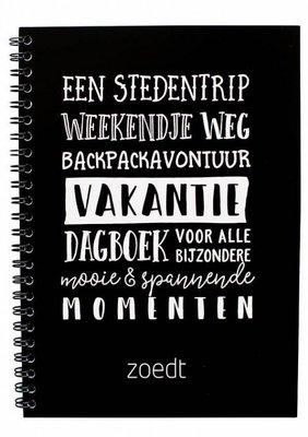 Dagboek Vakantie | Invulboek