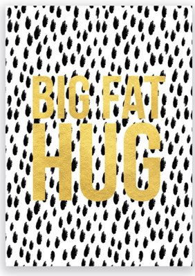 KAART BIG FAT HUG
