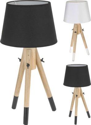 Tafellamp | Wit of Zwart