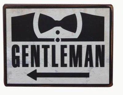 Tekstbord | Gentleman
