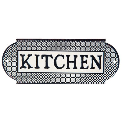 Tekstbord Kitchen | Metaal