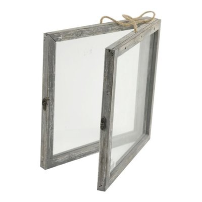 Display frame 30x30x9 cm grijs