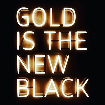 Photoblock | Gold is the new Black