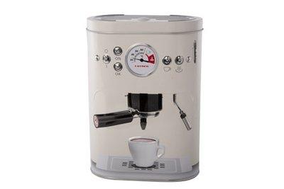 Voorraad bus koffiepads koffiemachine Grijs
