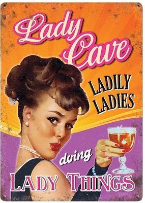 Tekstbord | Lady Cave
