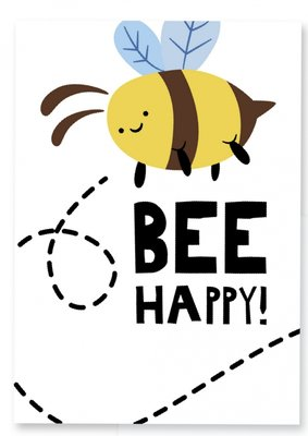 Kaart | Bee Happy/Color Bee