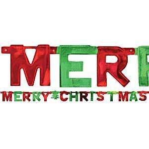 "Kerstversiering ""Merry  Christmas"""
