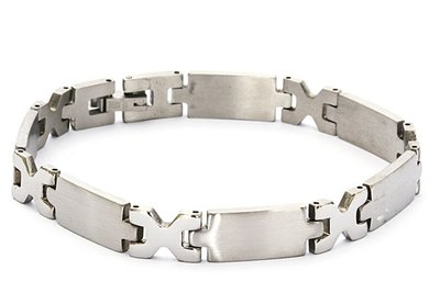 Stainless steel Heren armband
