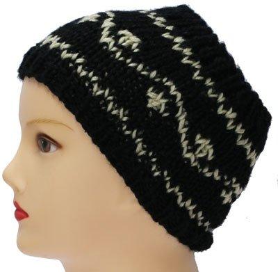 Hoofd/Haarband zwart wit S