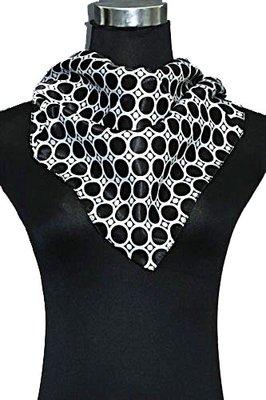 Sjaal | Zwart Wit vierkant