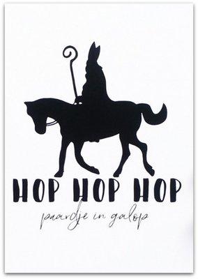 Kaart Sinterklaas | Hop Paardje in galop