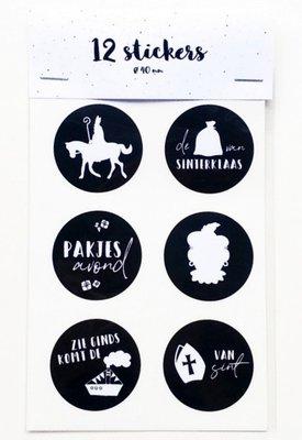 Cadeau-stickers | Sint