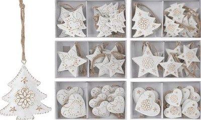 Kerst Hangdecoratie Set Van 8 stuks