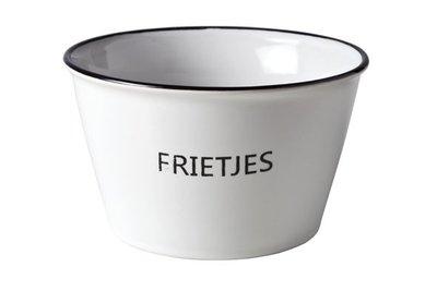 SCHAALTJE MET TEKST 'FRIETJES'