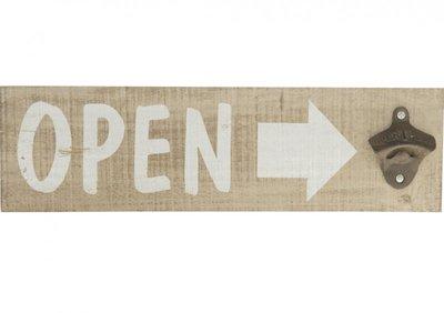 Flesopener wand |'Open'