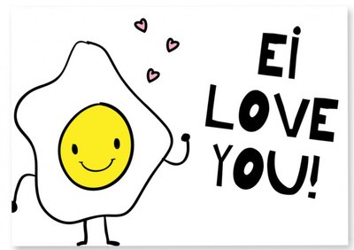 Kaart |  Ei love you