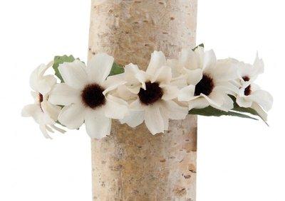 Armband Ibiza met bloemen