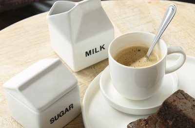 Melkkan & Suikerpot | porselein