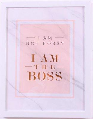 Tekstbord  The Boss