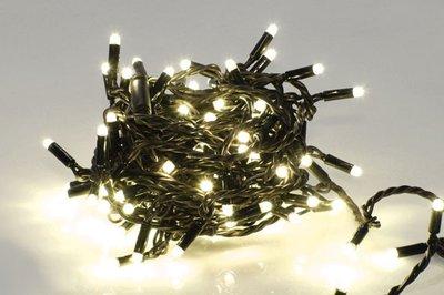 Kerstboomverlichting in/out 100 L | ZWART Snoer