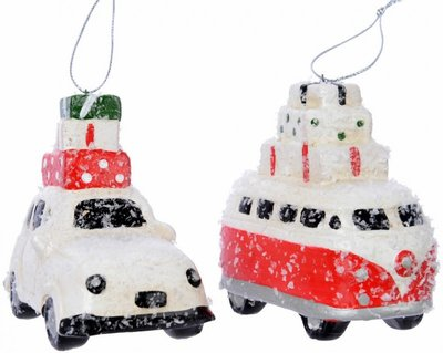 Kerst-auto hang VW bus/auto