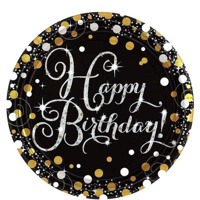 Bordjes | karton Happy Birthday
