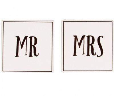 Onderzetters | Mr & MRS