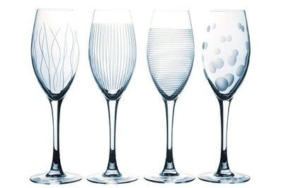 Champagneglazen 4 x | Lounge club