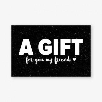 Cadeaukaartje | A Gift