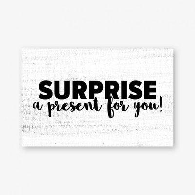 Cadeaukaartje | Surprise