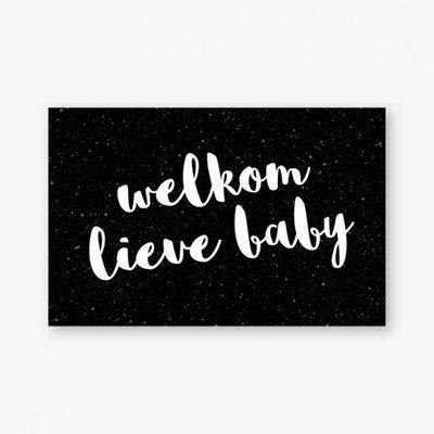 Cadeaukaartje | Welkom lieve Baby