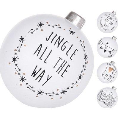 Kerstballen staande decoratie