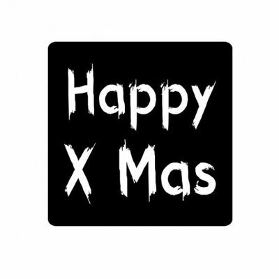 Stickers Happy X Christmas | 10 x