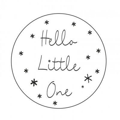 Stickers | hello little one  | 5 X