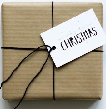 Cadeaukaartje | Enjoy Christmas