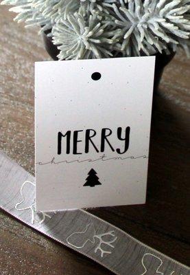 Cadeaukaartje |Merry Christmas