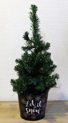 Kerstboom met lichtjes 30 cm Batterijen