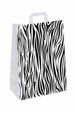 Cadeautasje Zebra