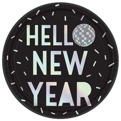 Bordjes Glitter Ball Hello New Year!