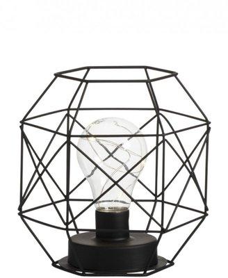 Lamp op batterijen Zwart J-LINE
