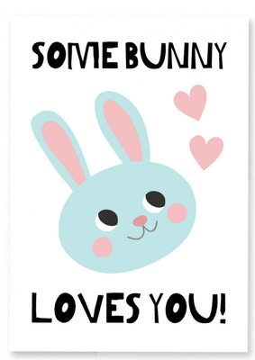 Kaart | Some Bunny Loves you