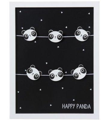 Fotokader met clips Panda J LINE