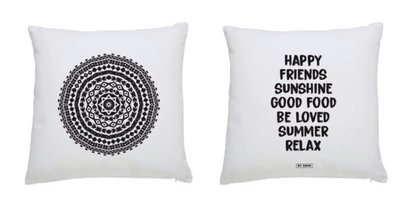 Buitenkussen MANDALA/HAPPY FRIENDS/ BY ROMI
