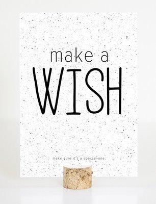 Kaart | 'Make a wish'