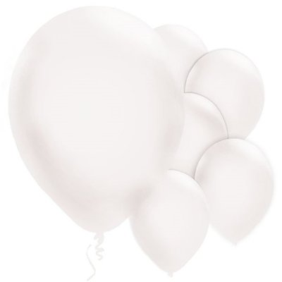 Ballonnen | Pearl White | 10 st.