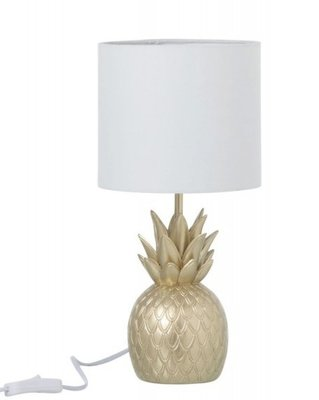 Lamp Ananas Polyresin Goud