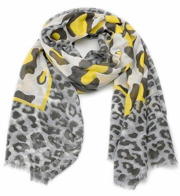 Sjaal |Panter met Geel